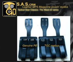 Genuine PE vs TGC replica -MP5 mag pouch